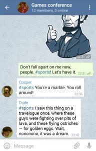 گروه پرسش و پاسخ تلگرام
